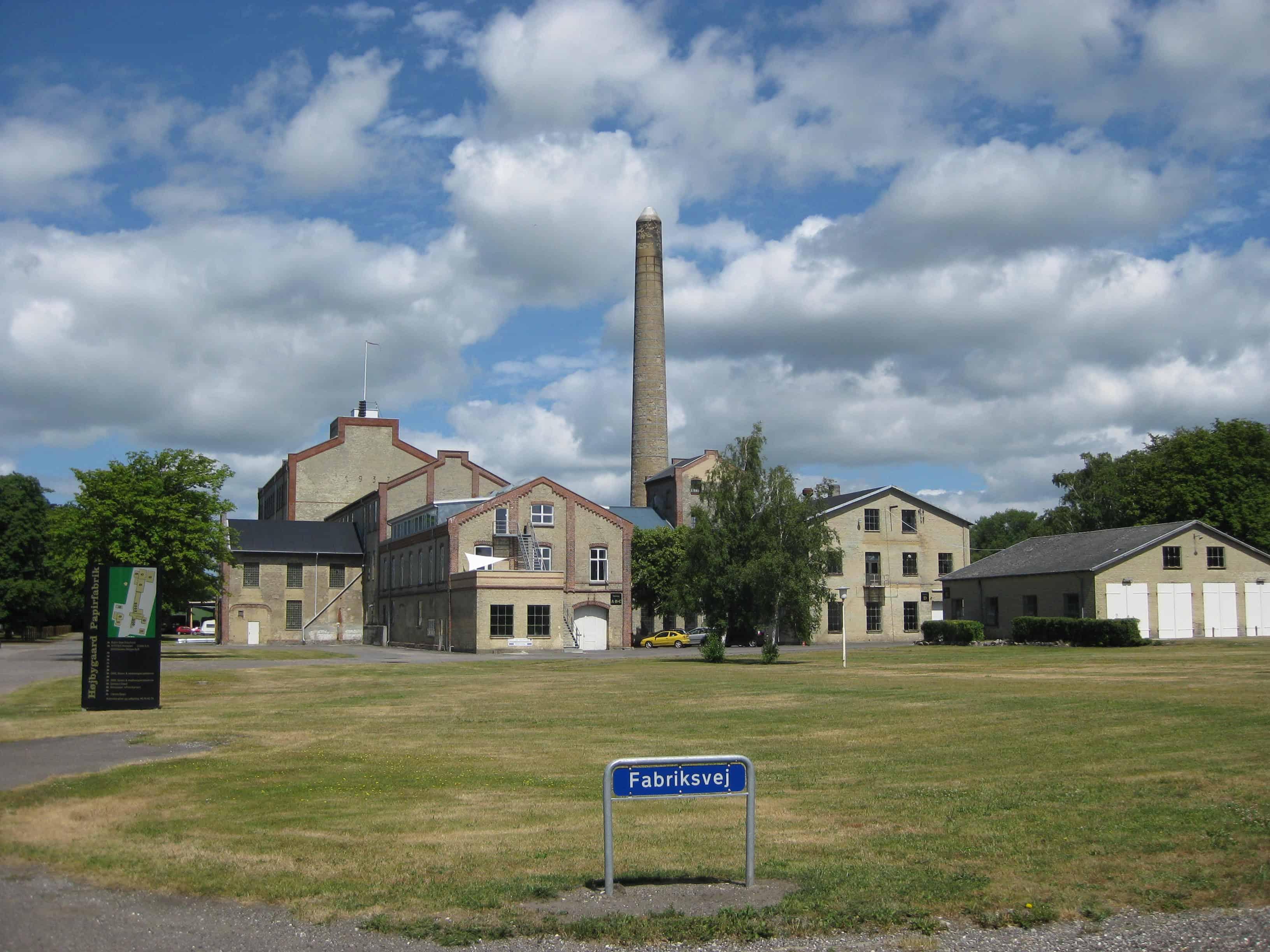 Højbygård Papirfabrik 2014