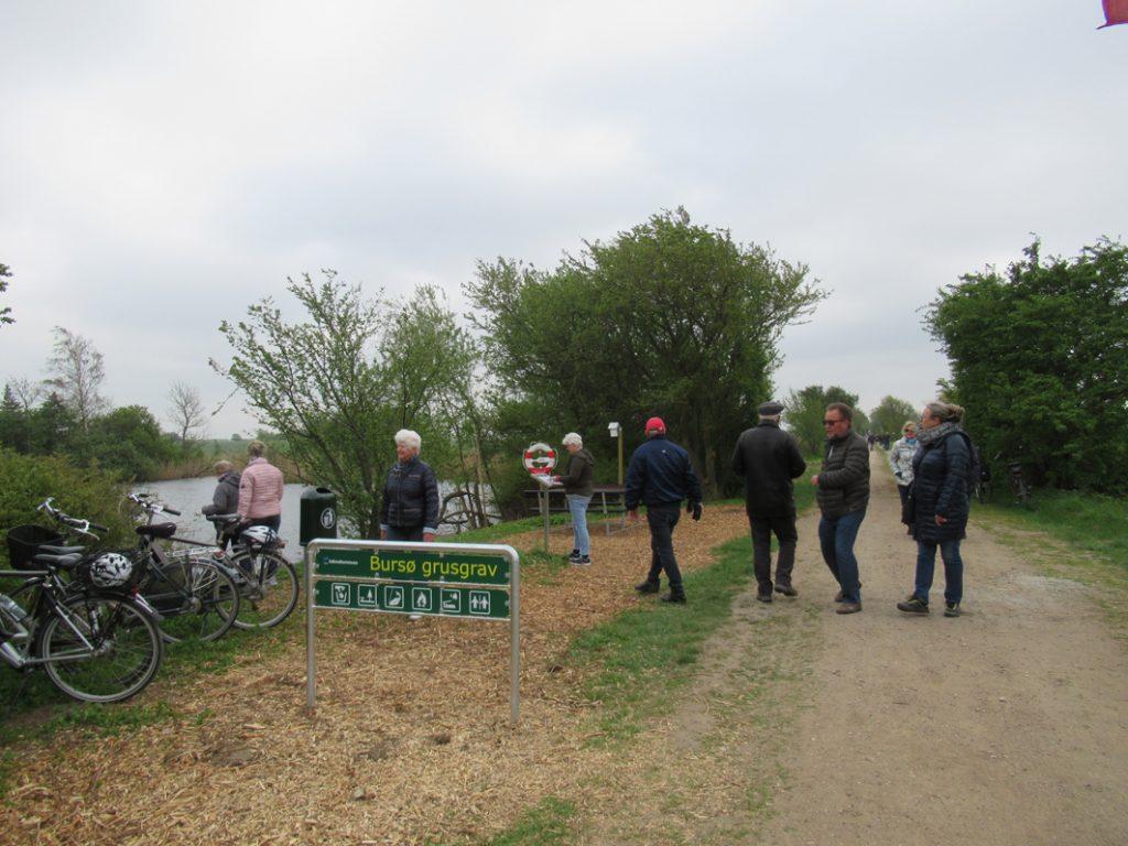 Indgang til Bursø grusgrav
