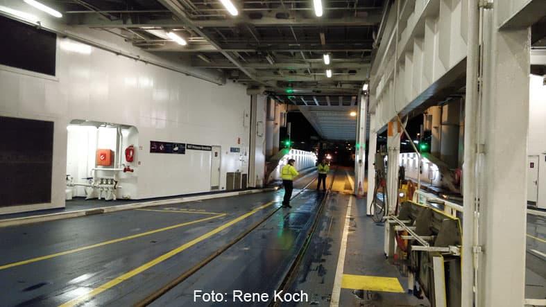 Klargøring til Ombordkørsel