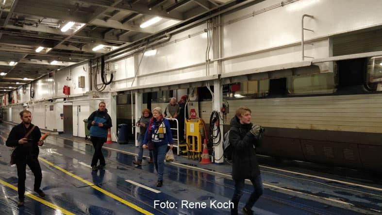 Togentusiaster på togtur