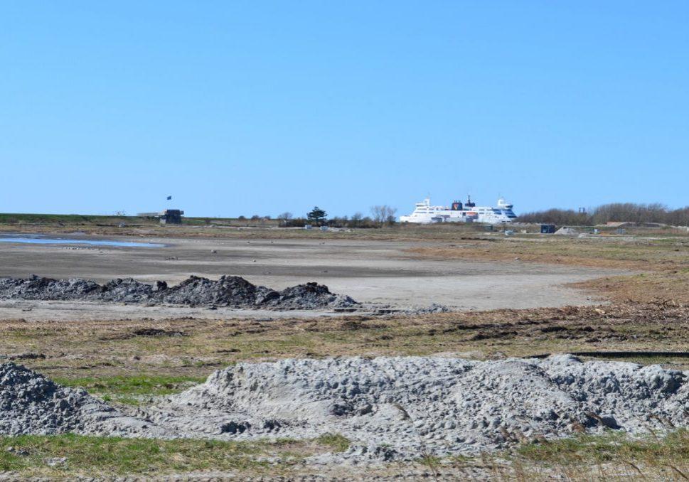 Strandholm sø tørlagt